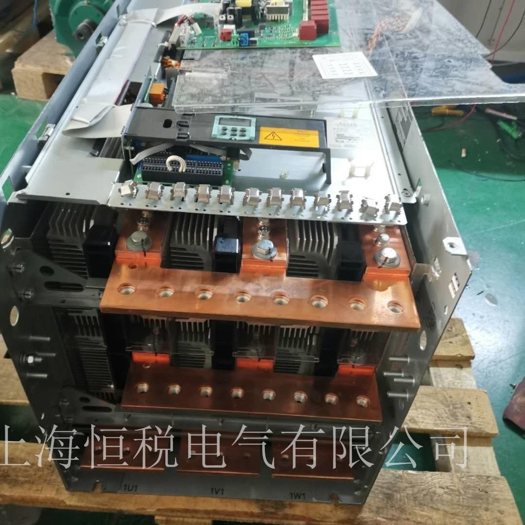西门子变频器6RA80上电面板无显示修理诊断