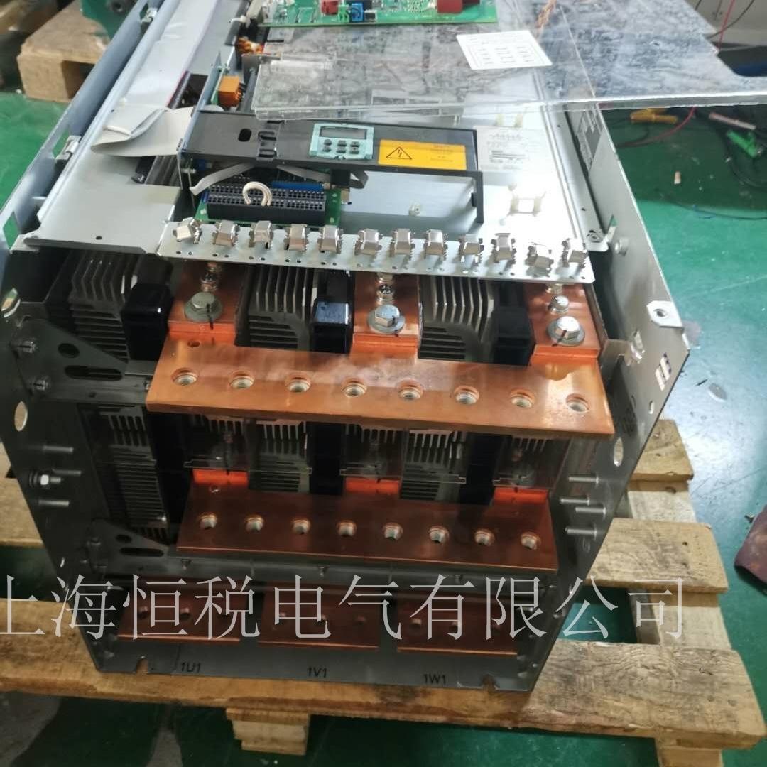 西门子控制器6RA80显示报警F60038故障维修