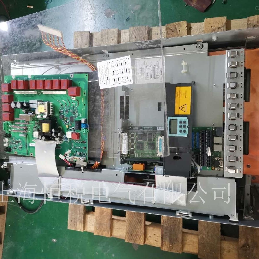 西门子控制器6RA80开机面板不显示售后维修