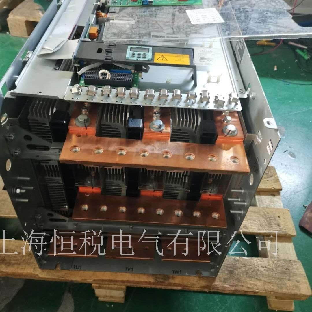 西门子变频器开机显示报警F60004现场修理