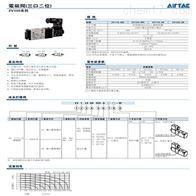 潍坊亚德客3V系列电磁阀产品参数