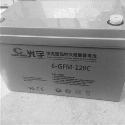 光宇6-GFM-120C  12V120AH蓄电池
