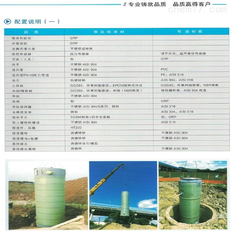 一体化雨水泵站厂家