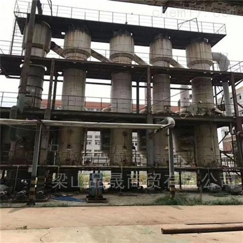 厂家回收二手药厂浓缩双效蒸发器