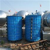 W型大量回收10㎡搪瓷片冷凝器换热器