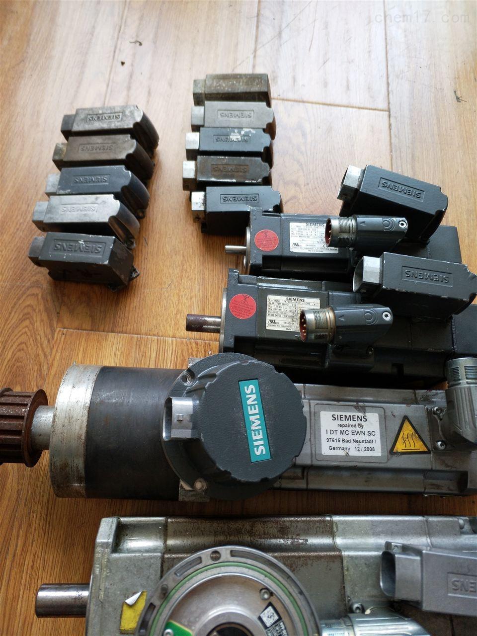煤厂西门子主轴电机维修更换编码器故障-当天可以修好