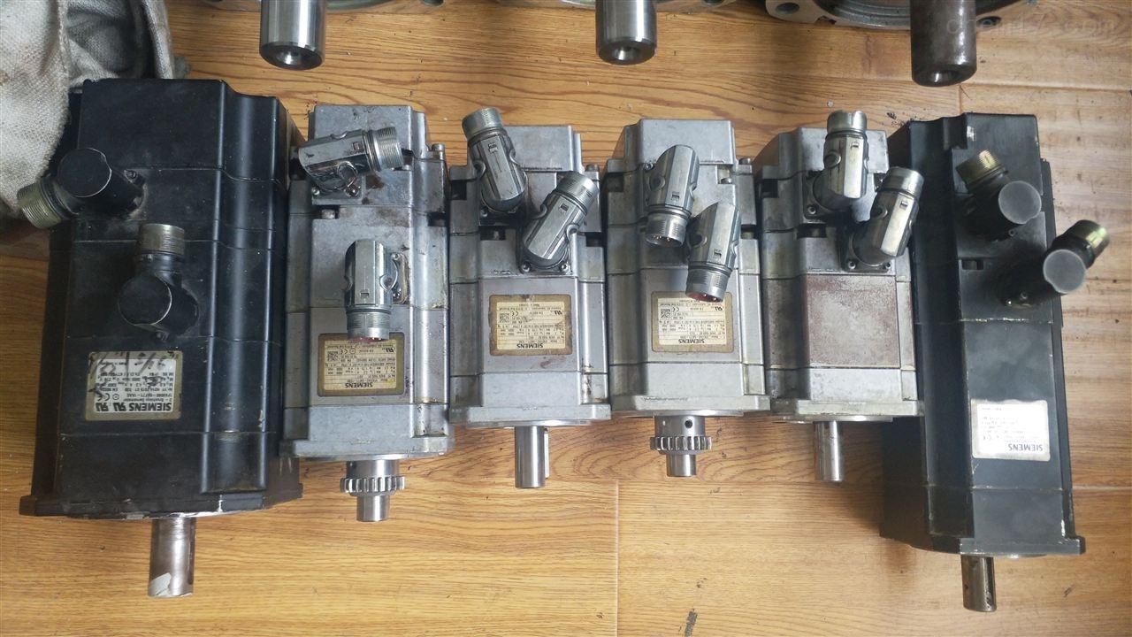 铣床西门子电机更换轴承-当天可以修好