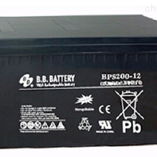 台湾BB蓄电池BPS200-12代理销售