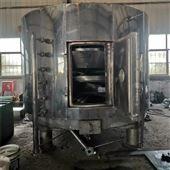 20㎡专业回收二手不锈钢盘式连续干燥机