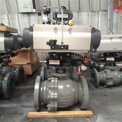 Q641F-25C-200軟密封氣動碳鋼球閥