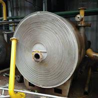50平方等新到一批二手螺旋板换热器油水热交换器价格