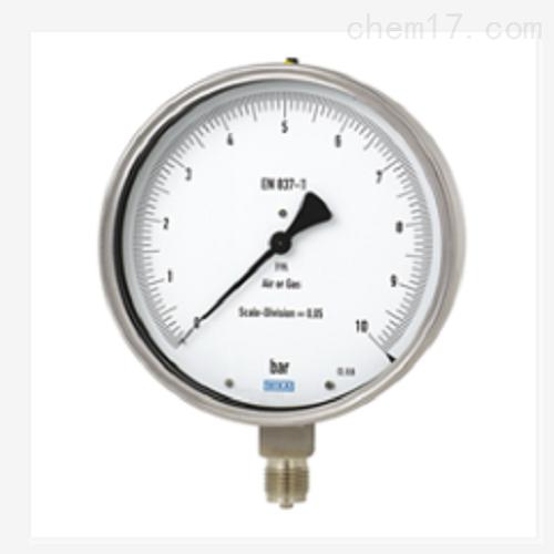 测试型压力表 不锈钢0.6级 332.50,333.50