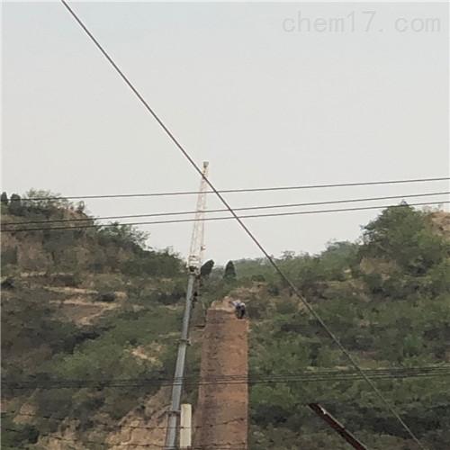 许昌机械拆除烟囱公司本地施工