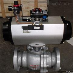 Q641F-40C-150氣動碳鋼軟密封球閥