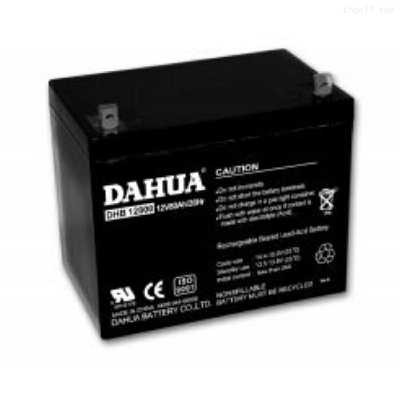 大华蓄电池12VDHB12800经销商
