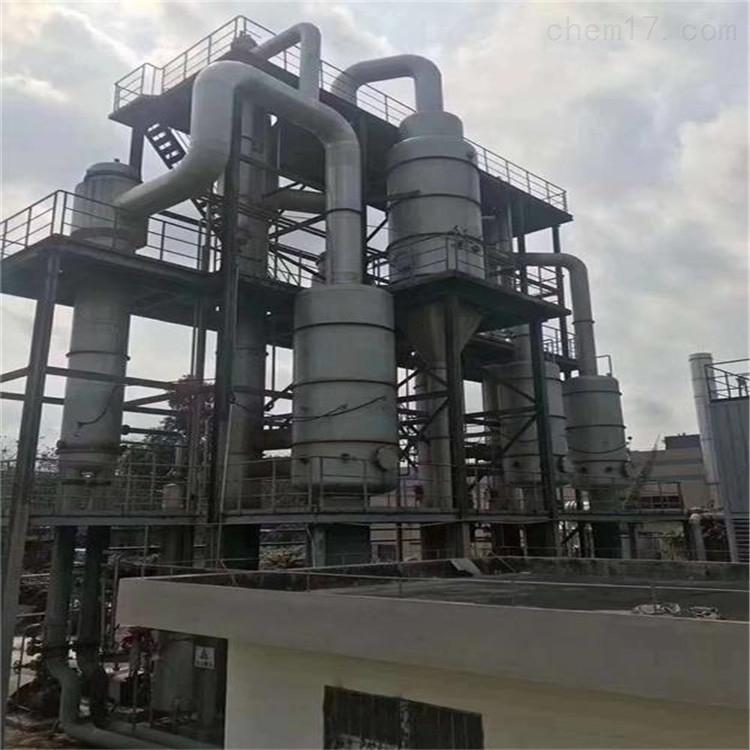 长期高价回收二手1吨钛材质MVR蒸发器 浓缩