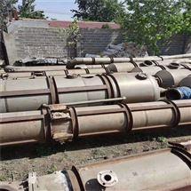 30吨二手多效浓缩蒸发器钛材现货