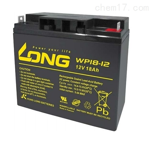 LONG广隆蓄电池WP18-12原装价格