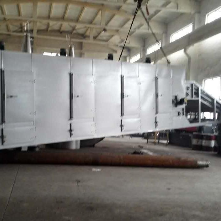 麦苗多层网带干燥机