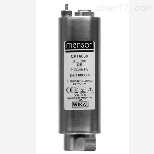 高精度模拟压力传感器 CPT6030 校准