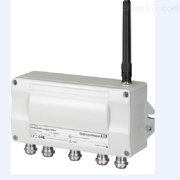 瑞士E+H智能无线HART网关