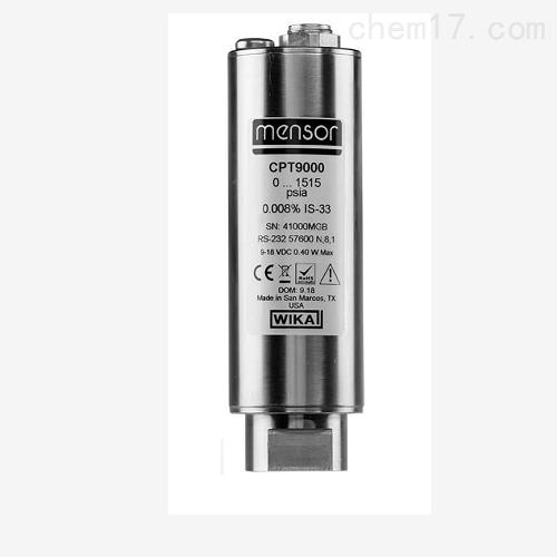 精密型高级版压力传感器 CPT9000 校准