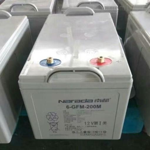 南都蓄电池6-GFM-200M批发零售价格