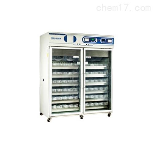 美菱4±1℃血液冷藏箱双开门1380升
