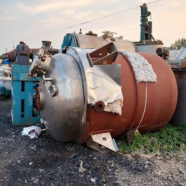 厂家供应304化工反应釜二手设备厂