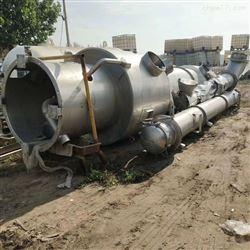 二手2吨巴氏降膜单效蒸发器