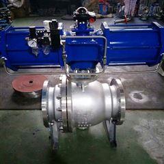 Q647H-16P-250气动不锈钢球阀