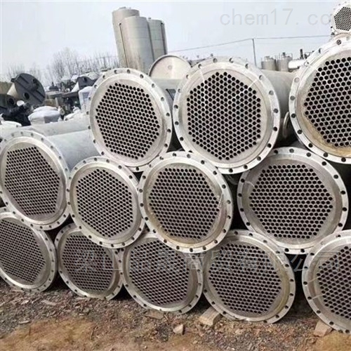高价收购二手150平方列管冷凝器