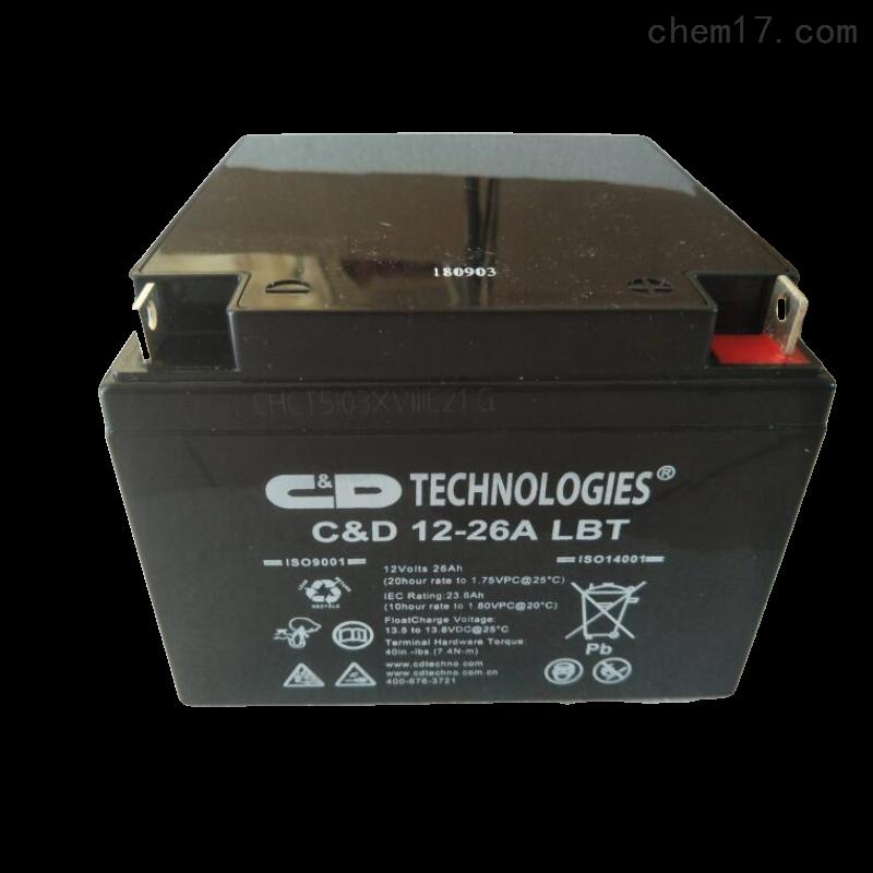 大力神蓄电池C D12-26A LBT供应商