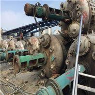 二手搪瓷反应釜1-10吨-20吨-25吨销售