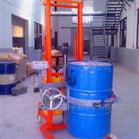 ACX油墨厂倒油桶电子秤,300KG升降倒油电子称