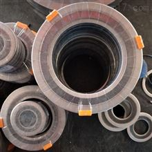 C型高温金属四氟缠绕垫片定制