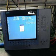 西门子触摸屏KTP1200不启动黑屏维修