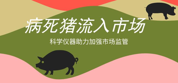 病死猪流入市场 科学仪器助力加强监管