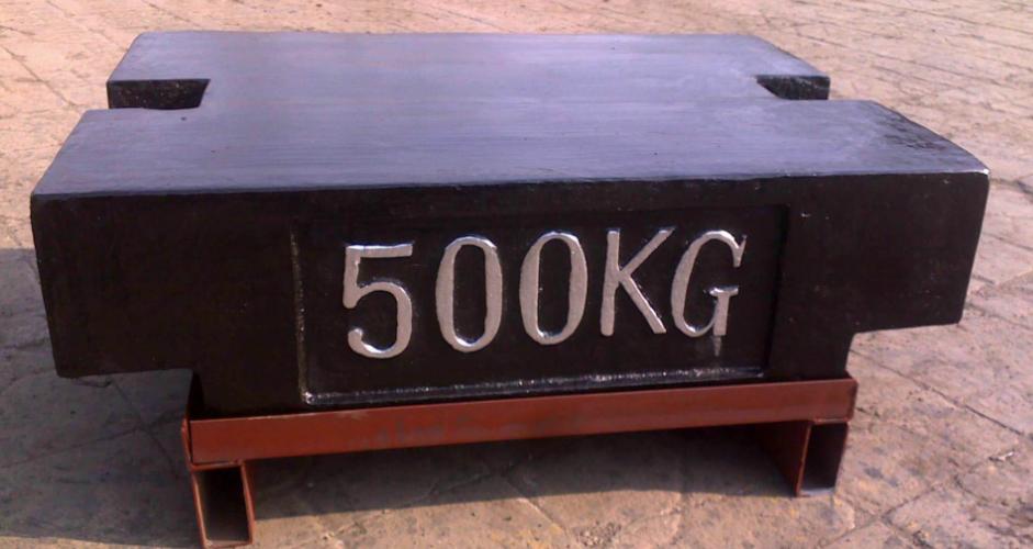 校秤500公斤标准砝码