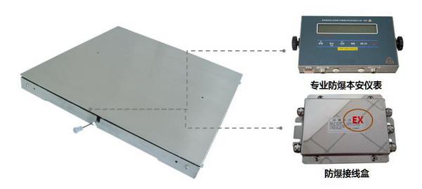 1T涂料行业带4-20MA输出功能防爆秤