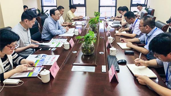 杭州市副市长王宏一行莅临托普云农调研