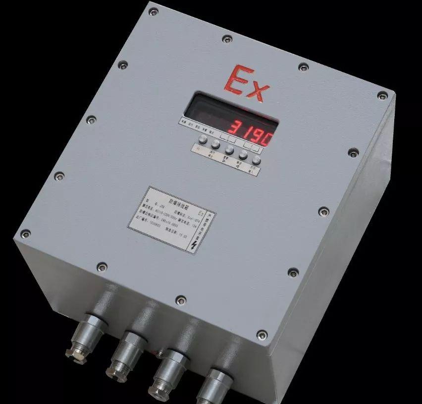 XK3190-C8G+连接PLC隔爆型称重仪表