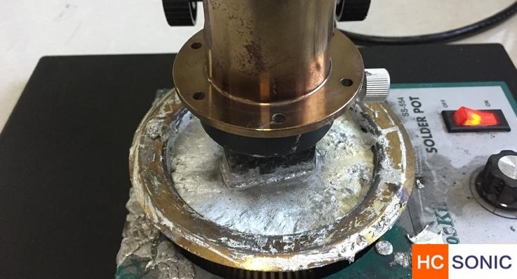 超声波软钎焊