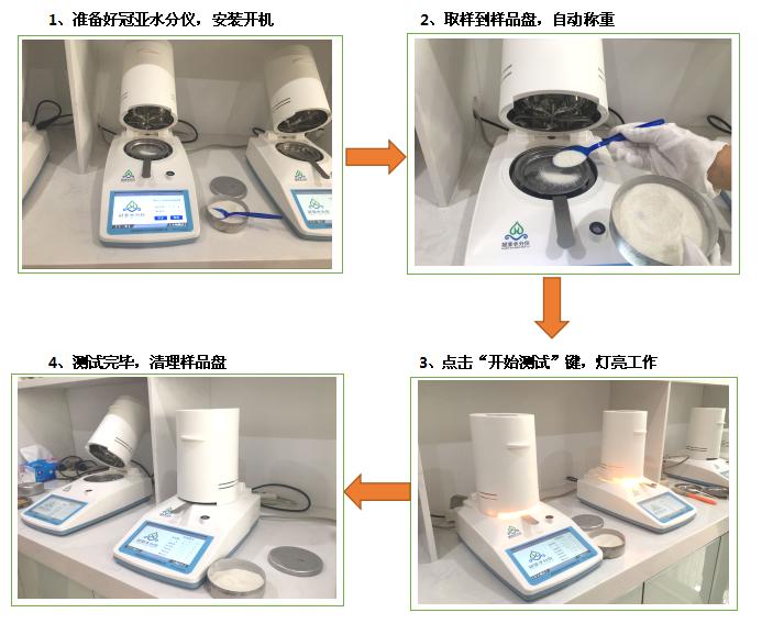 医药粉末水分含量分析仪