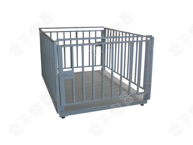 带围栏畜牧秤