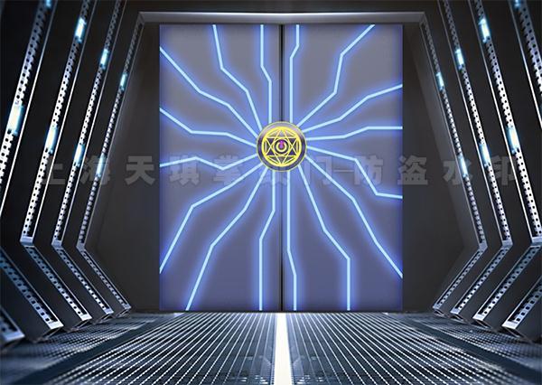 发光感应门
