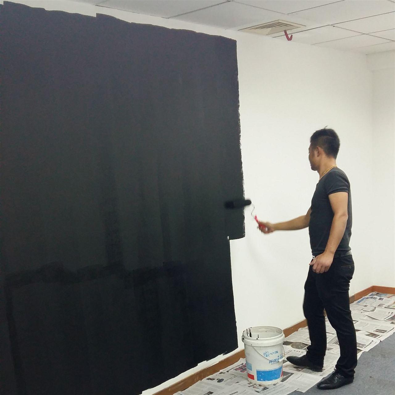 电磁屏蔽涂料刷墙