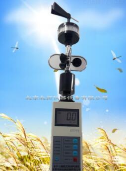 便携式三杯风向风速仪