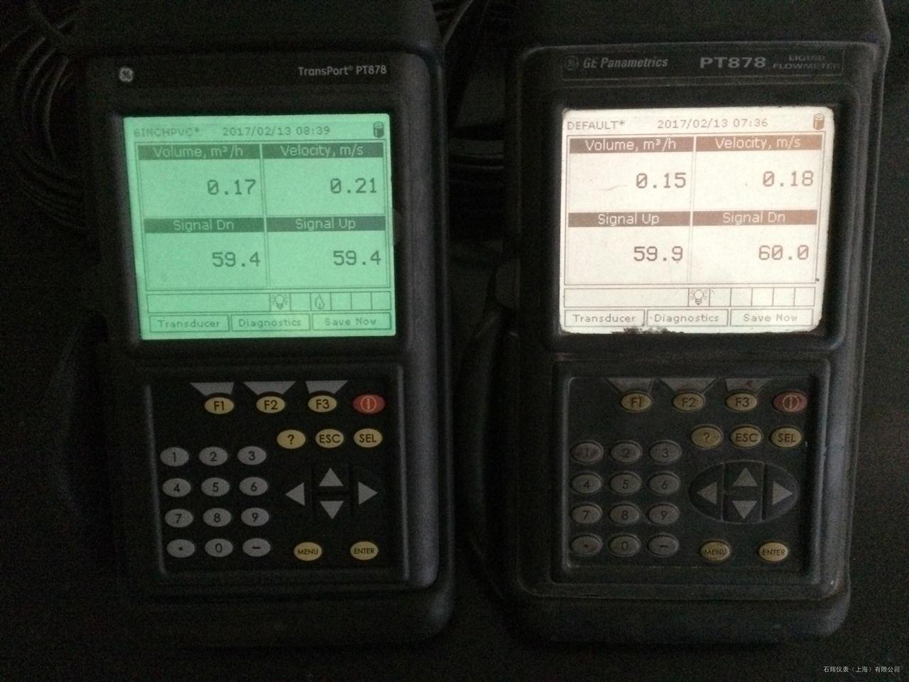 ge便携式超声波流量计