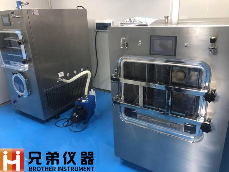 一平方自动压盖冷冻干燥机